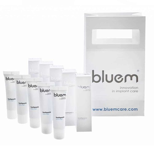 Pasta de dinti bluem® cu oxigen travel (15 ml)